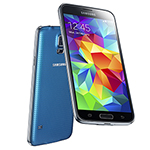 Samsung SAM-GALAXYS5EURO-BLUE-OB Unlocked GSM Mobile Phone