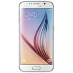 Samsung GALAXYS6-WHITE PEARL Unlocked GSM Mobile Phone