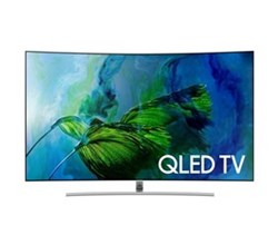 Samsung TV Professional Displays samsung 65 inch class q8cam q series curved uhd qled smart tv