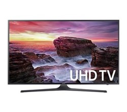 Samsung TV Professional Displays samsung 75 inch class mu6290 6 series flat uhd led smart tv