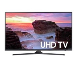 Samsung TV Professional Displays samsung 75 inch class mu6300 6 series flat uhd led smart tv