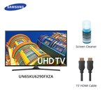 Samsung Un65ku6290fxza W/ Cable & Cleaner Led Smart Tv
