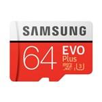 Samsung MicroSDXC EVO Plus Memory Card w/ Adapter 64GB microSDXC Card