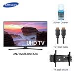 Samsung UN75MU6300FXZA w/ Cable & Cleaner LED Smart TV 469799-5