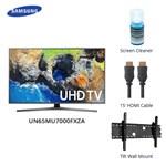 Samsung UN65MU7000FXZA w/ Cable &; Cleaner LED Smart TV 469787-5
