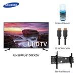 Samsung Un58mu6100fxza Bundle Led Smart Tv