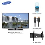 Samsung Un55j6201afxza Bundle Led Smart Tv