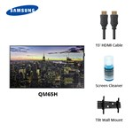Samsung B2b Qm65h-bundle 65 Qm65h Uhd Signage Display