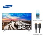 Samsung Un55mu8000fxza With Cable & Cleaner Mu8000 4k Uhd Tv