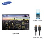 Samsung B2b Qm49h W/ Cable & Cleaner Qmh Series Led 49 Inch Digita