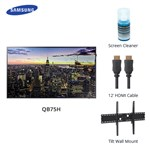Samsung B2b Qb75h Bundle Qbh Series 75 Inch Class Led Display