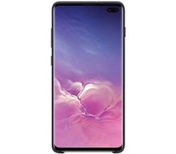 Black Cases samsung galaxy s10+ silicone cover