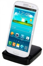 Samsung Chargers for Galaxy S3 galaxys3dock black