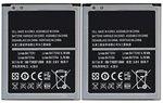 Samsung Battery for Samsung EBF1M7FLU (2-Pack) Replacement Battery 63897-5
