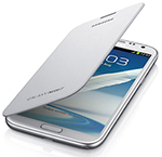 Samsung Flipcovernote2-white Protective Cover