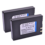 Samsung Battery for Samsung IA-BP80W (2-Pack) Camera Battery