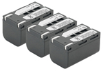 Samsung Battery for Samsung SB-LSM160 (3-Pack) Replacement Battery