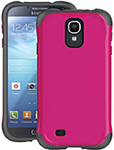 Ballistic Aspira Case - Raspberry Pink/charcoal Galaxy S Iv Aspira Ser