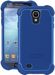 """""""Ballistic SG MAXX Case for Galaxy S4 Blue Brand New, The Ballistic SG MAXX Case is a safeguard shell gel case with holster"""