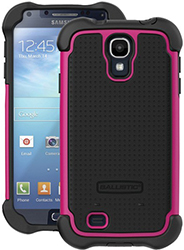 """""""Ballistic SG MAXX Case for Galaxy S4 Black & Hot Pink Brand New, The Ballistic SG MAXX Case is a safeguard shell gel case with holster"""