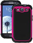 Ballistic Galaxy S Iii Sg Case - Black/pink Sg Case For Galaxy S Iii