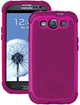 """Ballistic SG Case for Galaxy S3 Ruby Wine Brand New, The Ballistic SG Case is a safeguard shell gel case"