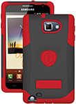 Trident Galaxy Note Aegis Case - Red Aegis Case For Galaxy Note
