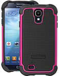 """""""Ballistic SG Case for Galaxy S4 Black & Pink Brand New, The Ballistic SG Case is a safeguard shell gel case"""