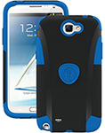 """""""Trident Aegis Case for Galaxy Note2 Blue Brand New, The Trident Aegis Case offers a slim and lightweight design with maximum protection"""