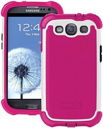 Ballistic Galaxy S Iii Sg Maxx Case - Pink/white Sg Maxx Case For Gala