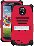 Trident Galaxy S Iv Kraken Ams Case - Red Ams Case For Galaxy S Iv