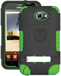"""""""Trident Kraken AMS Case for Galaxy Note1 Green Brand New, The Trident Kraken AMS Case, comes with hardened polycarbonate outer casing, impact-resistant silicone corners and high quality dust filters to strengthen the protection"""