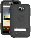 """""""Trident Kraken AMS Case for Galaxy Note1, The Trident Kraken AMS Case, comes with hardened polycarbonate outer casing, impact-resistant silicone corners and high quality dust filters to strengthen the protection"""