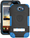 """""""Trident Kraken AMS Case for Galaxy Note1 Blue Brand New, The Trident Kraken AMS Case, comes with hardened polycarbonate outer casing, impact-resistant silicone corners and high quality dust filters to strengthen the protection"""