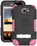 """""""Trident Kraken AMS Case for Galaxy Note1 Pink Brand New, The Trident Kraken AMS Case, comes with hardened polycarbonate outer casing, impact-resistant silicone corners and high quality dust filters to strengthen the protection"""
