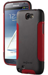 """DBA Cases Complete Ultra Case for Galaxy Note II - Black / Red Brand New, The DBA Cases Complete Ultra Case has an innovative design with two layer protection"