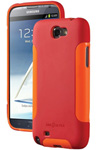 Dba Cases Galaxy Note Ii Comp Ultra Case - Poppy/tangerine Complete Ul