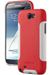 Dba Cases Galaxy Note Ii Comp Ultra Case - Poppy/white Complete Ultra