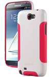 """""""DBA Cases Complete Ultra Case for Galaxy Note II - White / Pink Brand New, The DBA Cases Complete Ultra Case has an innovative design with two layer protection"""