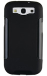"""""""DBA Cases Complete Ultra Package Case for Galaxy S III - Black / Black Brand New, The DBA Cases Complete Ultra Package Case has a strong, high grade polycarbonate outer layer that protects the phone from tough knocks"""