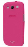 """Iluv Gelato Case for Galaxy S III - Pink Brand New, The iLuv Galaxy S III Gelato Case is lightweight and soft to the touch"