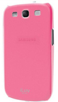 Iluv Galaxy S3 Overlay Shell - Pink Overlay Shell For Galaxy S Iii