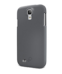 Cygnett Galaxy S4 Feel Soft Touch Slim Case - Grey Feel Soft Touch Sli