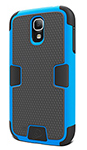 Cygnett Galaxy S4 Wrkmate Evo Extra Protective Case - Blu Workmate Evo