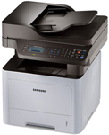 """Samsung ProXpress Laser Multifunction Printer Brand New Includes One Year Warranty, The Panasonic SL-M3370FD is a 4-in-1 Multifunction Printer that features print, copy, scan and fax and built-in duplex printing"