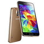 Samsung GALAXYS5EURO-GOLD Unlocked GSM Mobile Phone