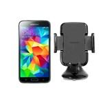 Samsung GALAXYS5-BLACK + UNIVERSALNAVMOUNT Unlocked GSM Mobile Phone