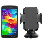 Samsung GALAXYS5-BLUE + UNIVERSALNAVMOUNT Unlocked GSM Mobile Phone
