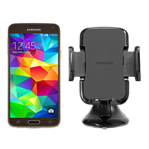 Samsung GALAXYS5-GOLD + UNIVERSALNAVMOUNT Unlocked GSM Mobile Phone